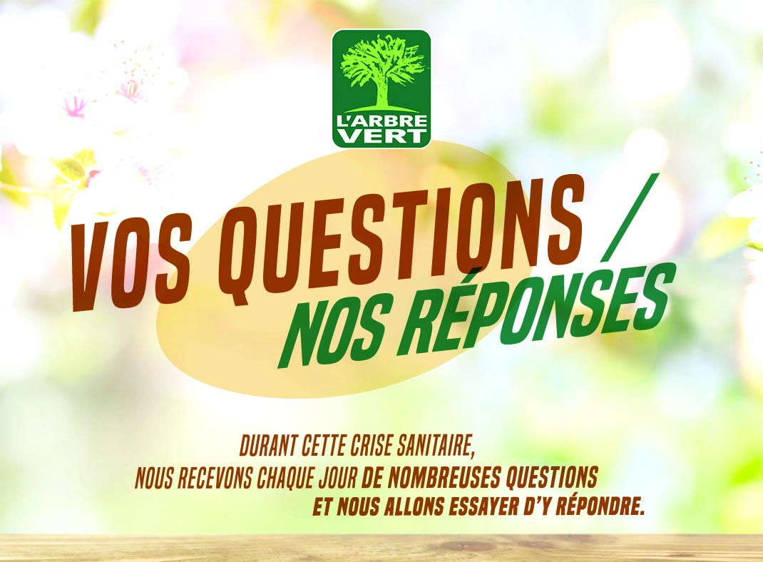 COVID-19 : VOS QUESTIONS NOS REPONSES