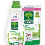 adoucissant pureté 800 ml arbre vert et recharge