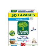 lessive poudre linge peaux sensibles