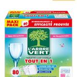 Tablettes hydrosolubles 80