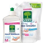 liquide vaisselle sensibles rechargeable